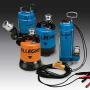 Allegro Industries' portable dewatering and sludge pumps are great for use in confined spaces.